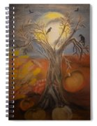 One Hallowed Eve Spiral Notebook