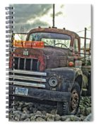 One Headlight International Spiral Notebook
