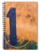 One In Zero Spiral Notebook