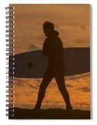 One Last Wave Spiral Notebook