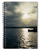 One Lonely Fisherman Spiral Notebook