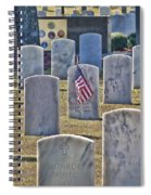 One Lonely Flag Spiral Notebook