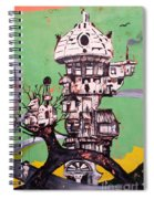 One Love Panda Spiral Notebook