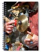 One Man Band Spiral Notebook