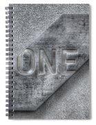 One Spiral Notebook