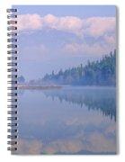 One Mile Lake, Near Pemberton, Bc In Spiral Notebook