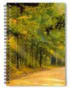 One Misty Morning Spiral Notebook