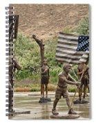 One Nation Under God Spiral Notebook