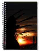 One Night At The Seashore  Spiral Notebook