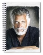 One Of The Most Interesting Man In The World Spiral Notebook