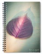 One Purple Leaf Spiral Notebook