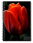 One Red Tulip Spiral Notebook