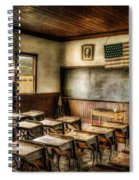 One Room School Spiral Notebook