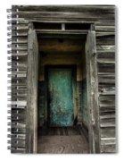 One Room Schoolhouse Door - Damascus - Pennsylvania Spiral Notebook