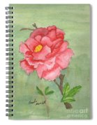 One Rose Spiral Notebook