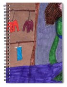 One Size Down Spiral Notebook