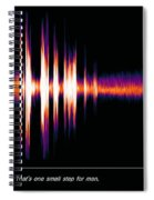 One Small Step With Words Spiral Notebook