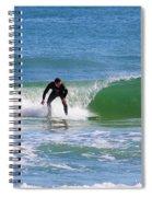 One Surfer Spiral Notebook
