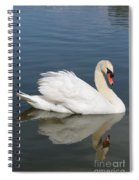 One Swan Spiral Notebook