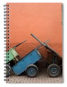 One Two Three Marlenas Spiral Notebook