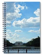 One View Two Memorials Spiral Notebook