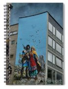 One Wall One Artist Spiral Notebook