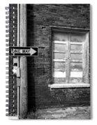 One Way Spiral Notebook