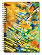One Way Street Spiral Notebook