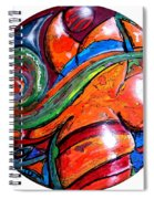 One Way Ticket To The Island Spiral Notebook