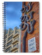 One Way To A Wrong Turn Spiral Notebook