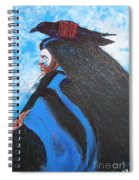 One With Raven Spiral Notebook