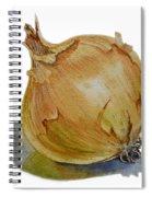 Onion Spiral Notebook