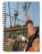 Only Masts Spiral Notebook