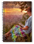 Only The Heart May Know Spiral Notebook
