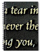 Only Then Spiral Notebook