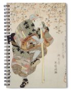 Onoe Kikugoro IIi As Shimbei Spiral Notebook