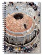 Onofrio Fountain In Dubrovnik Spiral Notebook