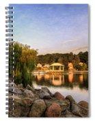 Onondaga Park Hiawatha Lake Spiral Notebook