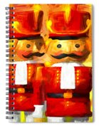 Onward Toy Soldiers Spiral Notebook