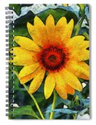 Onyx Store Sunflower Spiral Notebook