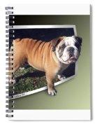 Oof Dog Spiral Notebook