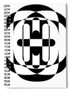Op Art 5 Spiral Notebook