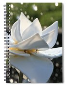 Opaque Lily Spiral Notebook