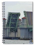 Open Bridge Of Lions Spiral Notebook