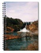 Dam At Raystown Lake Spiral Notebook