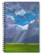 Open Field Majestic Spiral Notebook
