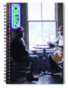 Open For Business Spiral Notebook