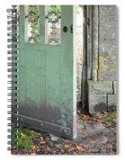Open Garden Gate Spiral Notebook