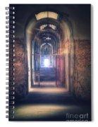 Open Gate To Prison Hallway Spiral Notebook