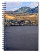Open Pit Copper Mine Spiral Notebook